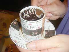 Futuro revelado na xícara de café