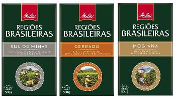 Cafés Melitta Regiões Brasileiras