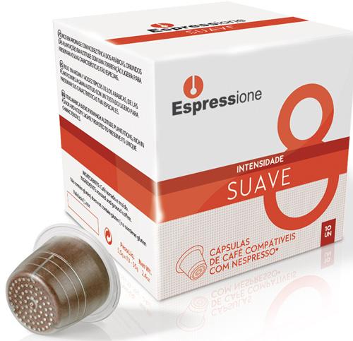 Caixa de capsulas brasileiras compativeis com as maquinas de café da Newspresso