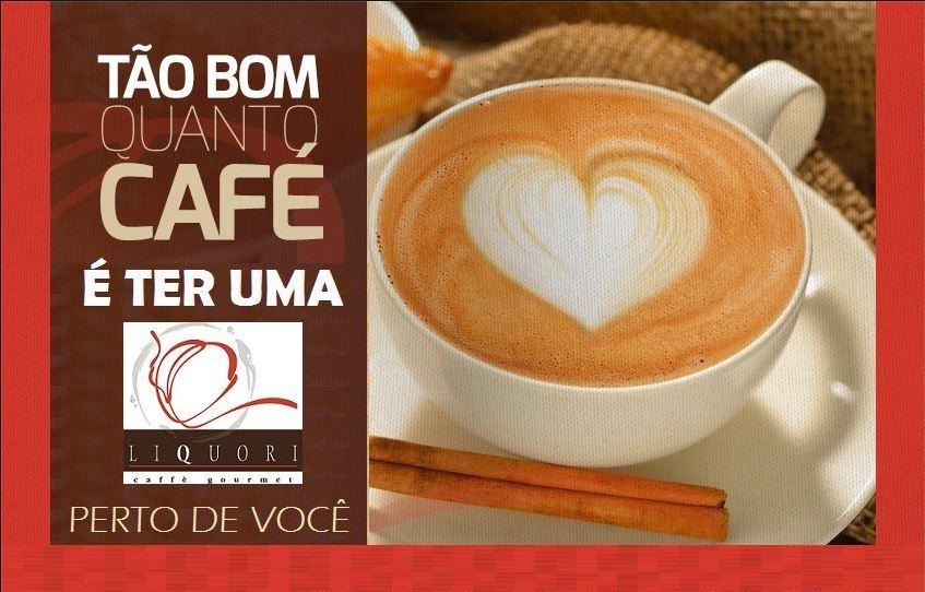 Conheça a franquia LIQUORI CAFFÉ GOURMET